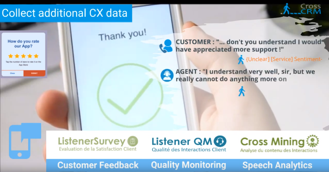 [VIDEOS] Nouvelle vidéo CROSS CRM ! - this is what we do ;-)